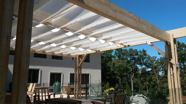 functional design deck awnings and canopies add style prot